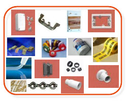 Junction boxes,c clip,wiring rules,mounting blocks,spring clips,electrical tape,glue,warning tape,silicon,pin clips,jack chain,batton holder,shrouds - electrical accessories - sparky direct
